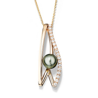 Collier Pearl Evolution der Andreas Ableitner Kollektion it´s jewel art