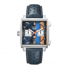 "TAG Heuer Monaco Gulf Sonderedition ""50th anniversary of Gulf Racing"""