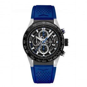 TAG Heuer CH01 Automatik Chronograph Blue Touch Edition