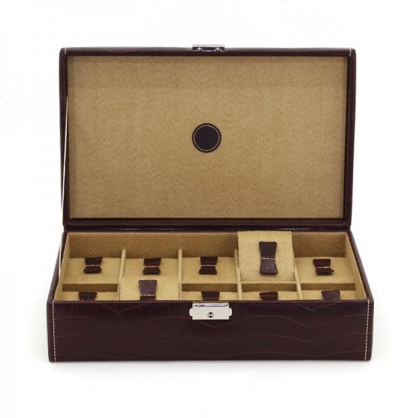 Preiswerte Uhrensammelbox für 10 Uhren