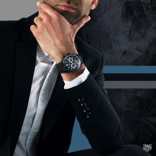 "How to wear- TAG Heuer Carrera Chronometer mit Chronograph und Tourbillon ""Tête de Vipère"" Limited Edition"