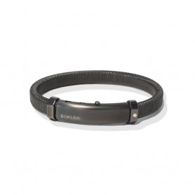 Edelstahl- Armband von Borsari aus der Linie AUDACE ACCIAIO