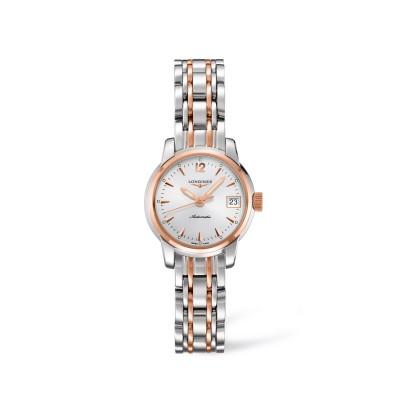 The Longines Saint-Imier Collection- Damen Automatik Uhr in Edelstahl & 18kt. Roségold Ref. L2.263.5.72.7