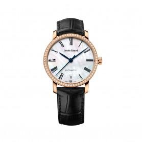 Louis Erard Excellence Date Damen- Automatikuhr- Roségold vergoldet | Ref. 68235PS04