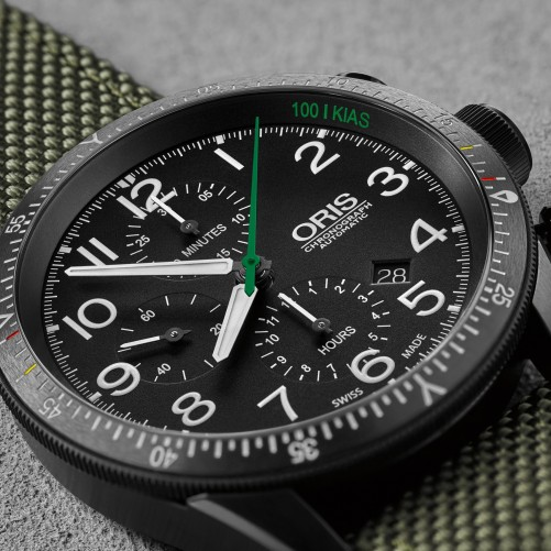 Die Oris Paradropper LT Staffel 7 Limited Edition wurde für die Piloten der Swiss Air Force Lufttransport Staffel 7 entwickelt