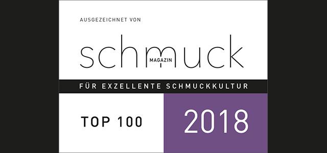 Juwelier Ableitner wird vom deutschen Schmuck Magazin unter die TOP 100 Schmuckgeschäfte im deutschsprachigen Raum gewählt.