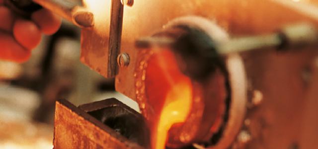 Goldschmelze im Goldschmiedewerkstätte Ableitner in Lieboch bei Graz