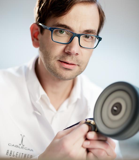 Goldschmiedemeister Andreas Ableitner