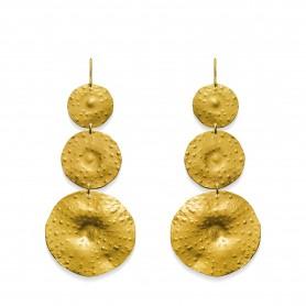 Oscar & Filu Ohrringe Florence silbervergoldet, Ref. OS0022017SVG