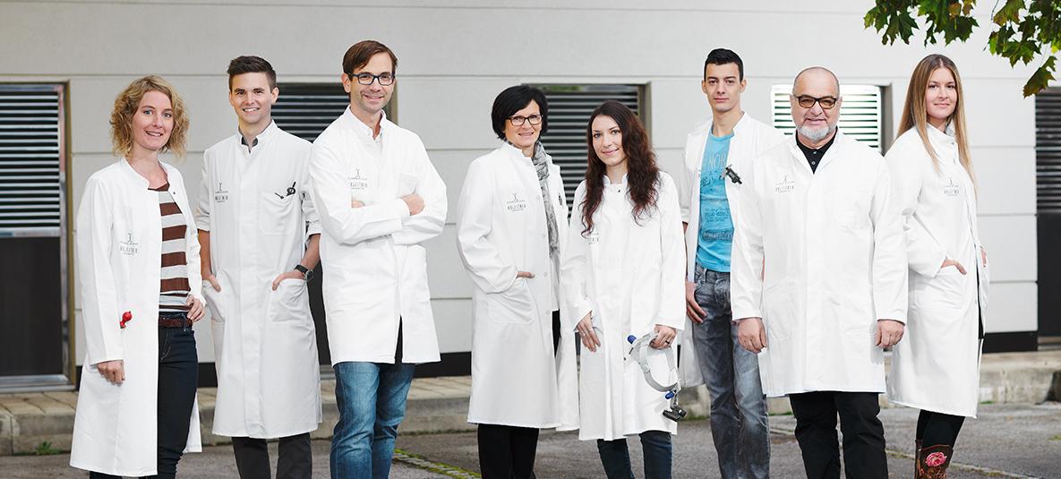 Goldschmiede- Team der Schmuckmanufaktur Ableitner in Lieboch bei Graz