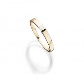 Verlobungsringe Free Diamond in 18kt Gelbgold