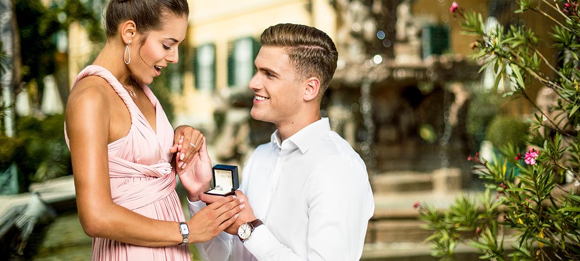 Verloben Sie sich mit Ringen von Juwelier Ableitner in Lieboch