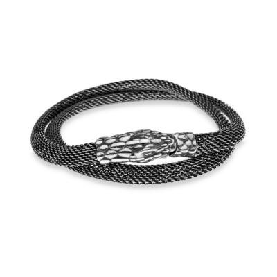 Silber-Mesh Armband von Platadepalo Ref. SP1