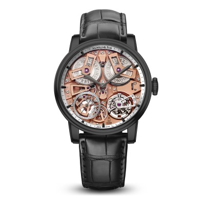 Tourbillon Chronometer No. 36 in Gunmetal-Grau