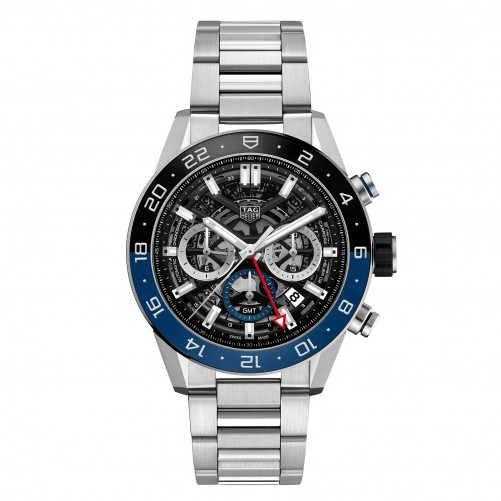 TAG Heuer Carrera Heuer 02 Manufaktur- Chronograph GMT | Ref. CBG2A1Z.BA0658