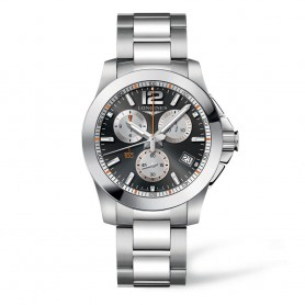 Longines Conquest 1/100th Roland Garros Sonderedition