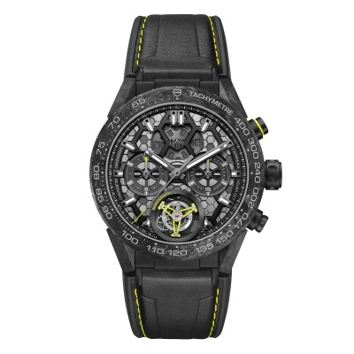 TAG Heuer CARRERA-CALIBRE HEUER 02T TOURBILLON NANOGRAPH Ref. CAR5A8K.FT6172