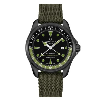 Certina DS Action GMT_Powermatic 80