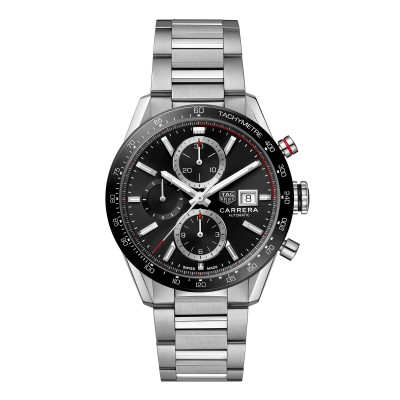 TAG Heuer Carrera Chronograph Calibre 16 41mm Ref. CBM2110.BA0651