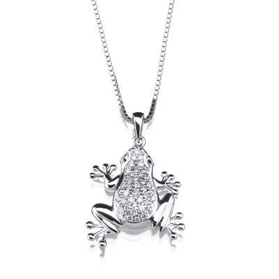 Anhänger Frog der Animal Collection der Goldschmiede Ableitner in Lieboch