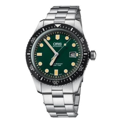 Oris Divers Sixty Five mit grünem Zifferblatt