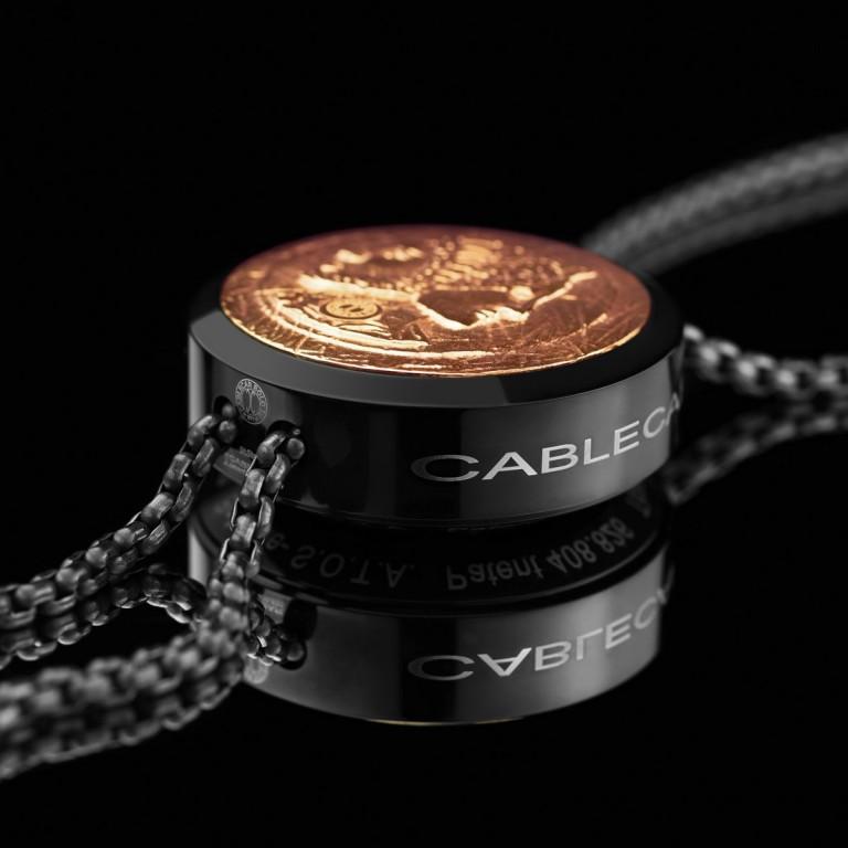 von ABLEITNER   Cablecar Bolo Tie   Heroes Black