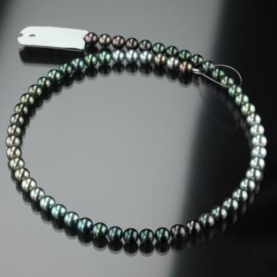 Lange Tahiti-Zucht-Perlenkette