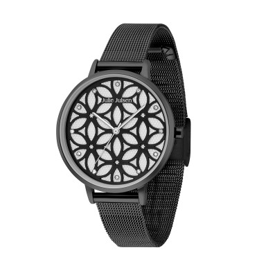 JULIE JULSEN FLOWER OF LIFE ALL BLACK