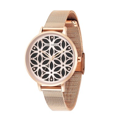 JULIE JULSEN FLOWER OF LIFE ROSÉ BLACK