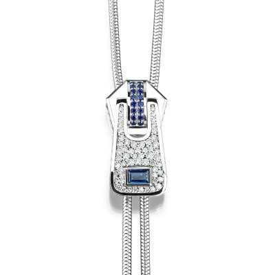 Cablecar Jewelry | The Zip Collection | Blue Jeans Limited Edition