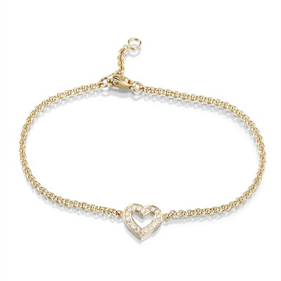 Evaine Heart | Armband mit Brillantherz