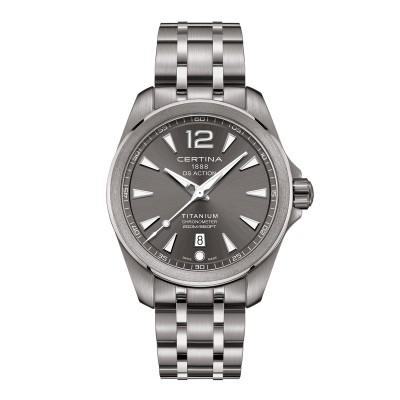 Zeitlose Herren-Titan-Armbanduhr
