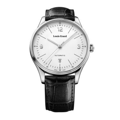 Zeitlose Herrenarmbanduhr, Uhr im Bauhausstil