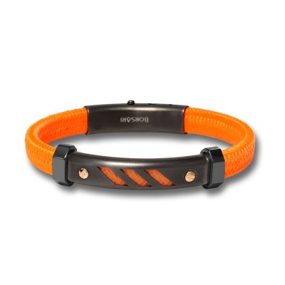 Maritimes Herrenarmband Orange