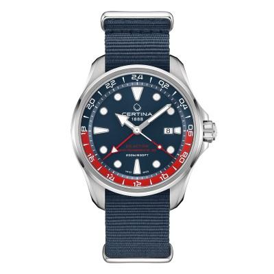 Automatik Uhr im Pepsi-Design mit GMT-Funktion